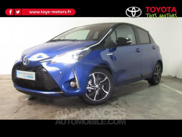 Toyota YARIS 100h Collection 5p RC18 Bleu Foncé Occasion - 0
