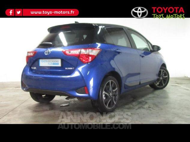Toyota YARIS 100h Collection 5p RC18 Bleu Foncé Occasion - 1