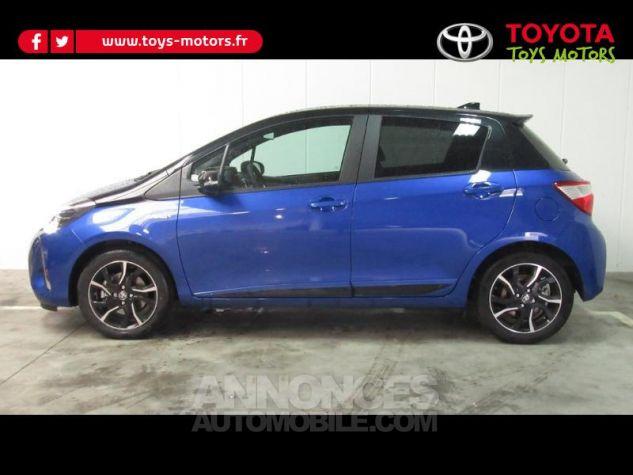 Toyota YARIS 100h Collection 5p RC18 Bleu Foncé Occasion - 2