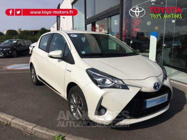 Toyota YARIS 100h Dynamic 5p BLANC NACRE Occasion - 0