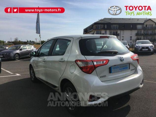 Toyota YARIS 100h Dynamic 5p BLANC NACRE Occasion - 3