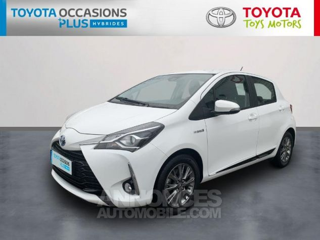 Toyota YARIS 100h Dynamic 5p RC18 Blanc Pur Occasion - 0