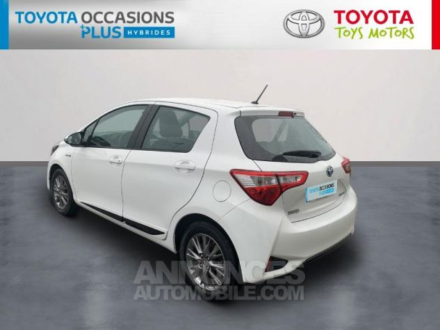 Toyota YARIS 100h Dynamic 5p RC18 Blanc Pur Occasion - 1