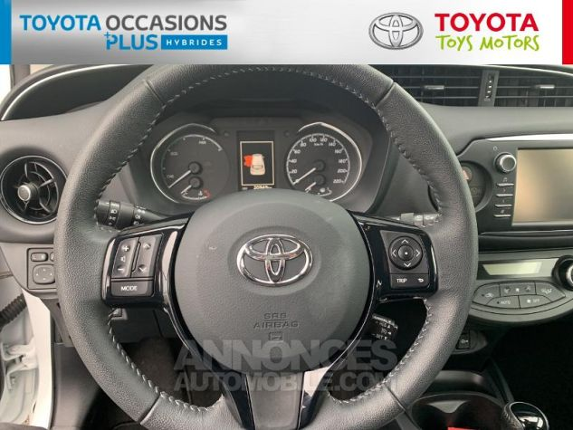 Toyota YARIS 100h Dynamic 5p RC18 Blanc Pur Occasion - 7