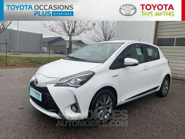 Toyota YARIS 100h Dynamic 5p RC18 Blanc Pur Occasion - 15