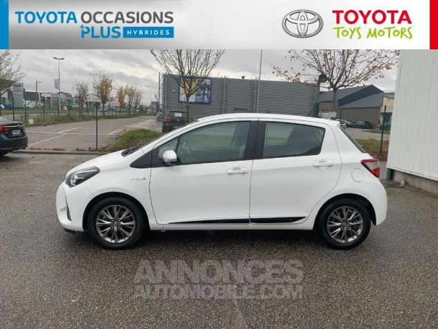 Toyota YARIS 100h Dynamic 5p RC18 Blanc Pur Occasion - 17