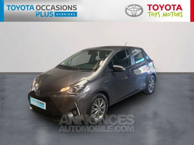 Toyota YARIS 100h Dynamic 5p RC18 Gris Atlas Occasion - 0