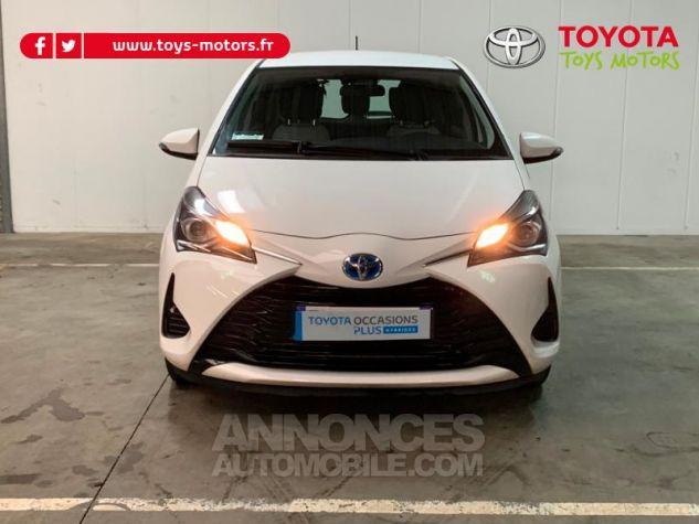 Toyota YARIS 100h France 5p Blanc Occasion - 2