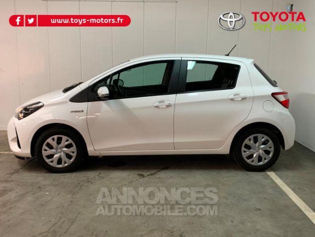 Toyota YARIS 100h France 5p Blanc Occasion - 3