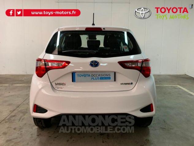 Toyota YARIS 100h France 5p Blanc Occasion - 4