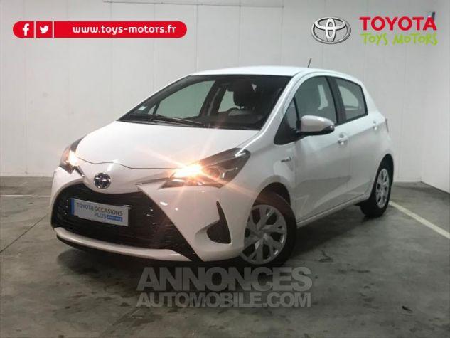 Toyota YARIS 100h France 5p RC18 Blanc Occasion - 0