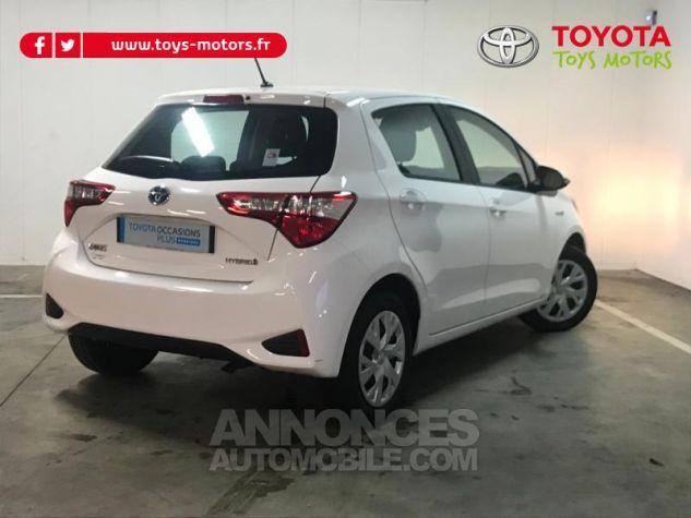Toyota YARIS 100h France 5p RC18 Blanc Occasion - 1