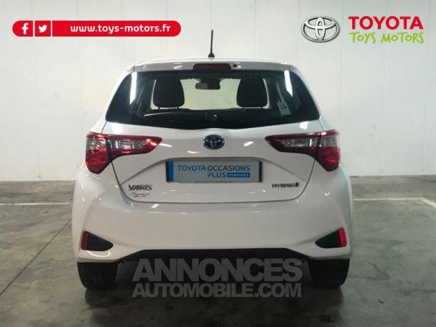 Toyota YARIS 100h France 5p RC18 Blanc Occasion - 4