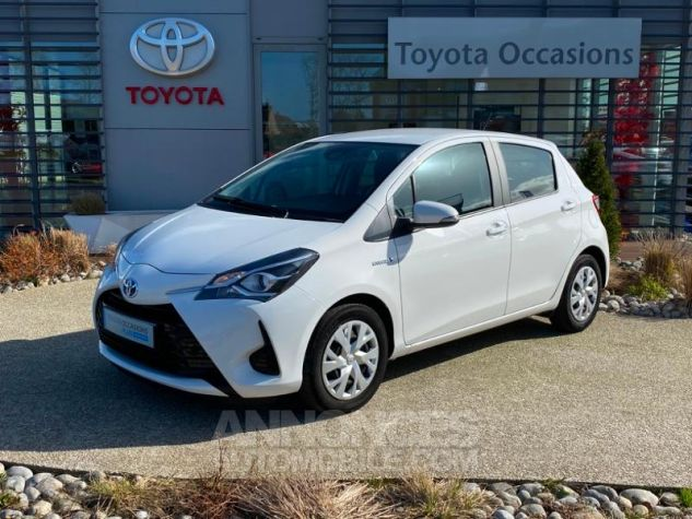 Toyota YARIS 100h France 5p RC18 Blanc Pur Occasion - 0