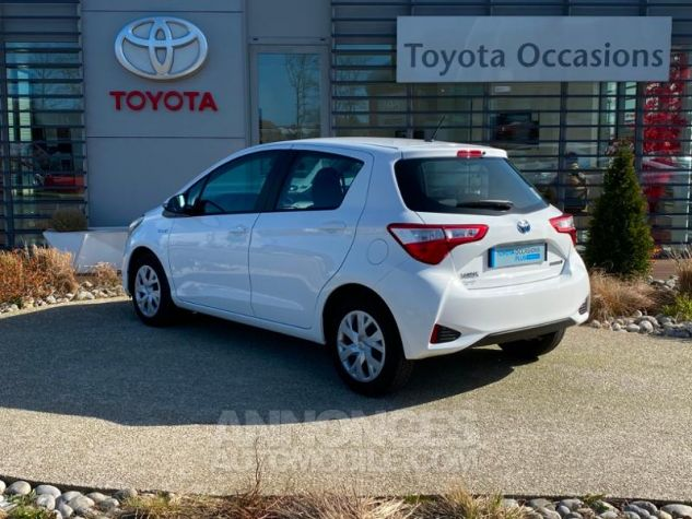 Toyota YARIS 100h France 5p RC18 Blanc Pur Occasion - 2