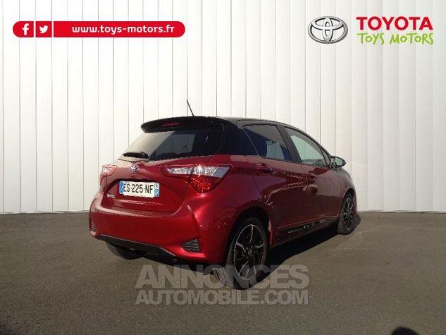 Toyota YARIS 110 VVT-i Collection 5p BI TON ROUGE ALLURE   NOIR Occasion - 2