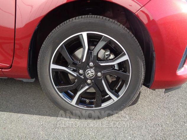 Toyota YARIS 110 VVT-i Collection 5p BI TON ROUGE ALLURE   NOIR Occasion - 8