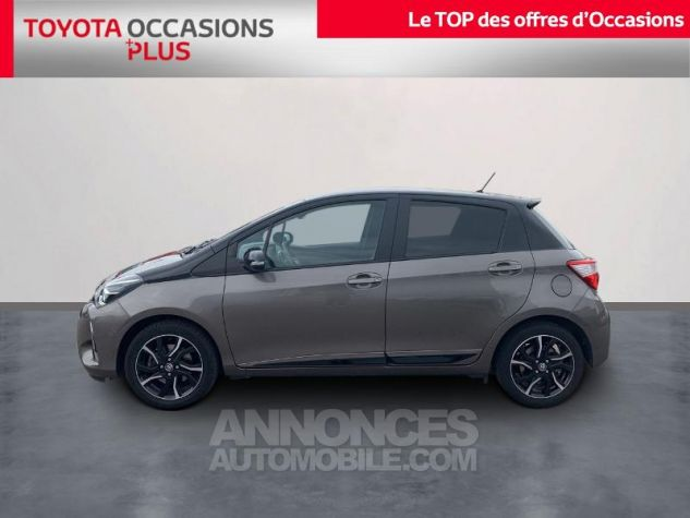 Toyota YARIS 110 VVT-i Collection 5p Gris Dune Occasion - 2