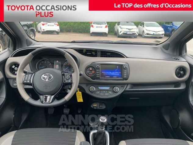 Toyota YARIS 110 VVT-i Collection 5p Gris Dune Occasion - 4