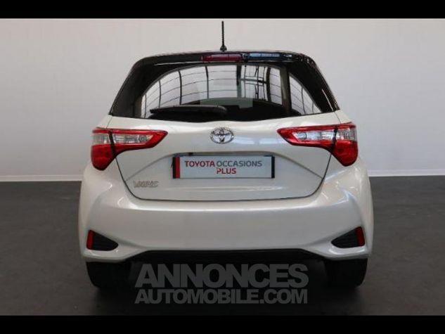 Toyota YARIS 110 VVT-i Design 5p RC18 BI TON BLANC NACRE   NOIR Occasion - 5