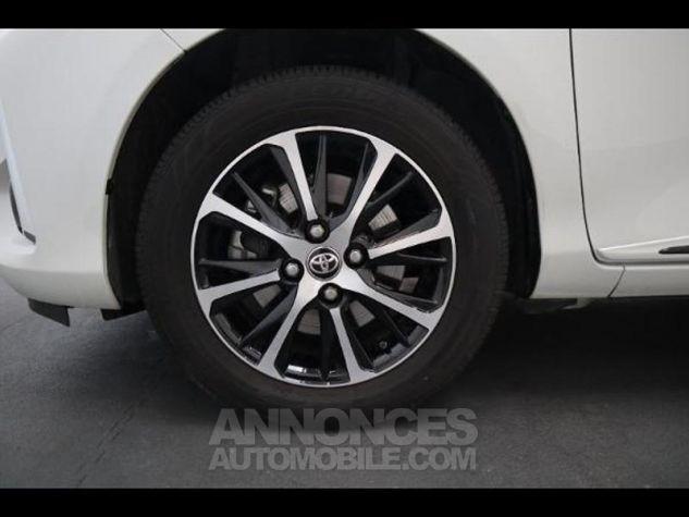 Toyota YARIS 110 VVT-i Design 5p RC18 BI TON BLANC NACRE   NOIR Occasion - 6