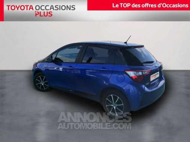 Toyota YARIS 110 VVT-i Design 5p RC18 Bleu Nebula Occasion - 1