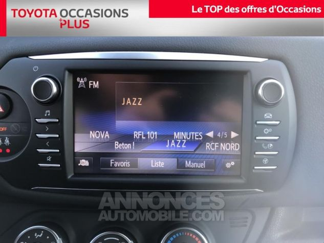 Toyota YARIS 110 VVT-i Design 5p RC18 Bleu Nebula Occasion - 6