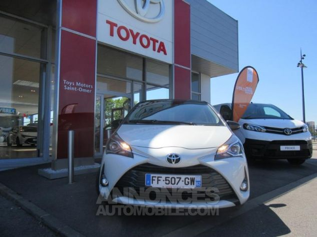 Toyota YARIS 110 VVT-i Design Y20 5p MY19 BI TON BLANC NACRE   GRIS ATL Occasion - 1