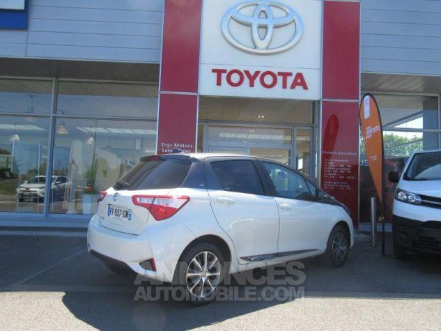 Toyota YARIS 110 VVT-i Design Y20 5p MY19 BI TON BLANC NACRE   GRIS ATL Occasion - 2