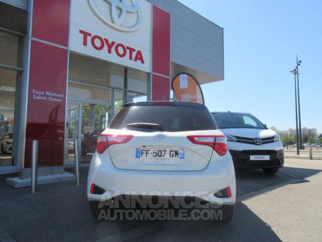 Toyota YARIS 110 VVT-i Design Y20 5p MY19 BI TON BLANC NACRE   GRIS ATL Occasion - 3