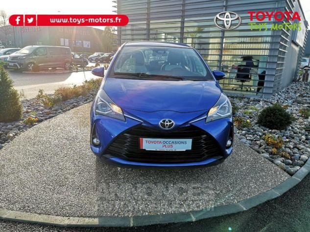 Toyota YARIS 110 VVT-i Dynamic 5p Bleu Nebula Occasion - 0