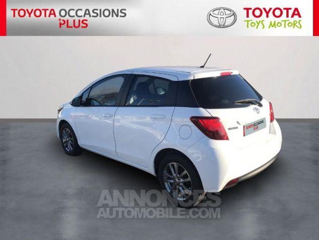 Toyota YARIS 69 VVT-i Dynamic 5p Blanc Pur Occasion - 1