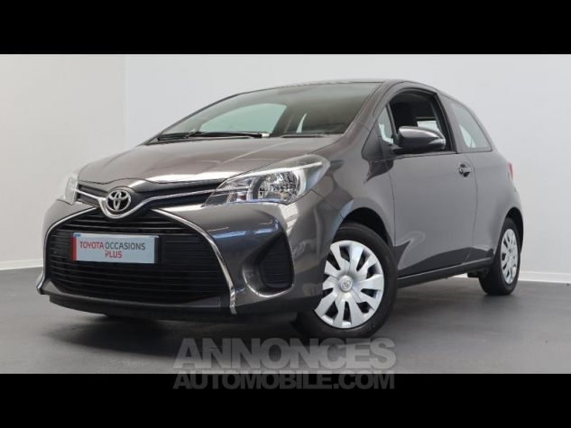 Toyota YARIS 69 VVT-i France 3p GRIS ATLAS Occasion - 0