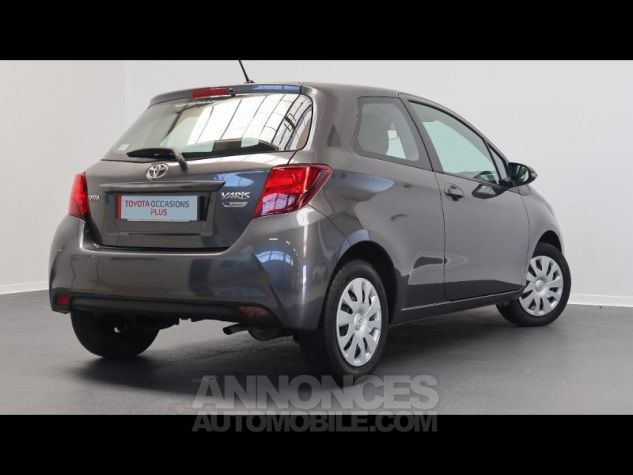 Toyota YARIS 69 VVT-i France 3p GRIS ATLAS Occasion - 1