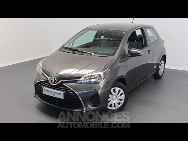 Toyota YARIS 69 VVT-i France 3p GRIS ATLAS Occasion - 2