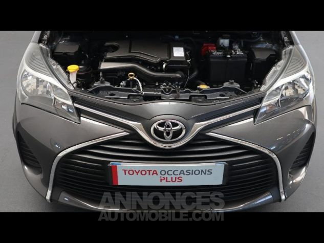 Toyota YARIS 69 VVT-i France 3p GRIS ATLAS Occasion - 4