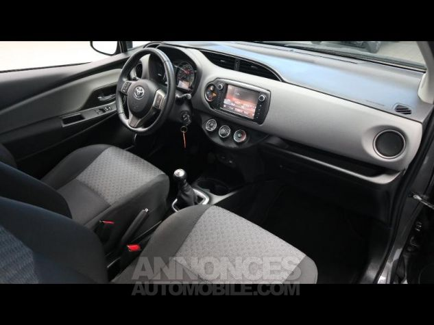 Toyota YARIS 69 VVT-i France 3p GRIS ATLAS Occasion - 13