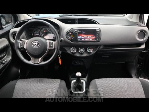 Toyota YARIS 69 VVT-i France 3p GRIS ATLAS Occasion - 16