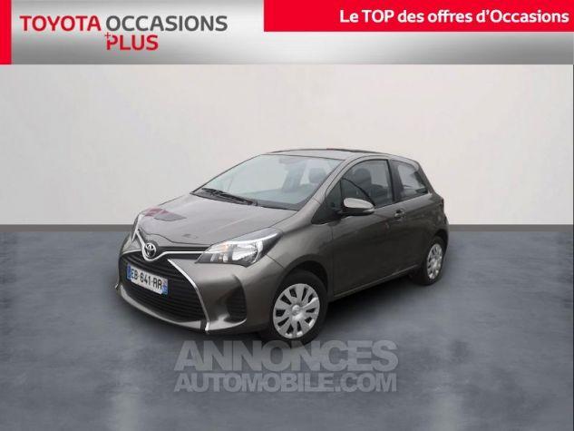 Toyota YARIS 69 VVT-i France 3p Gris Clair Métallisé Occasion - 0