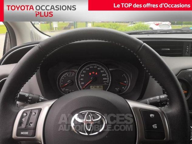 Toyota YARIS 69 VVT-i France 3p Gris Clair Métallisé Occasion - 7