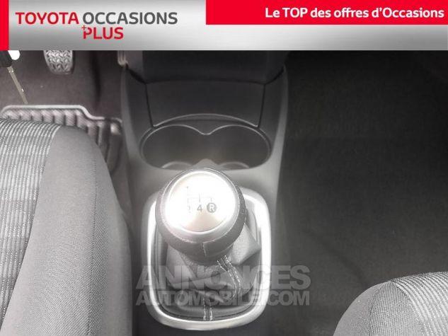 Toyota YARIS 69 VVT-i France 3p Gris Clair Métallisé Occasion - 8