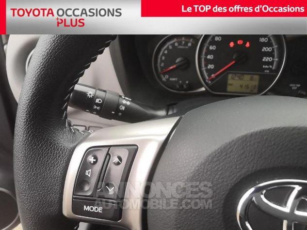 Toyota YARIS 69 VVT-i France 3p Gris Clair Métallisé Occasion - 9