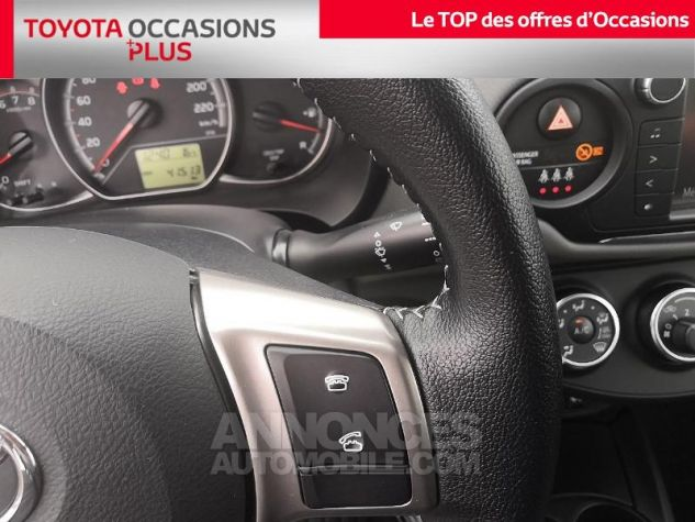 Toyota YARIS 69 VVT-i France 3p Gris Clair Métallisé Occasion - 11