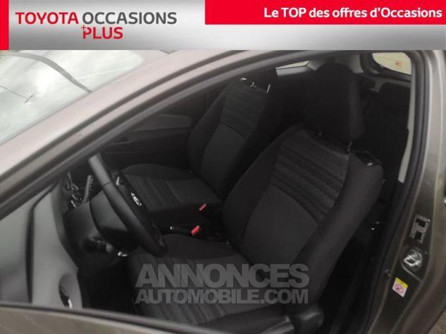 Toyota YARIS 69 VVT-i France 3p Gris Clair Métallisé Occasion - 12