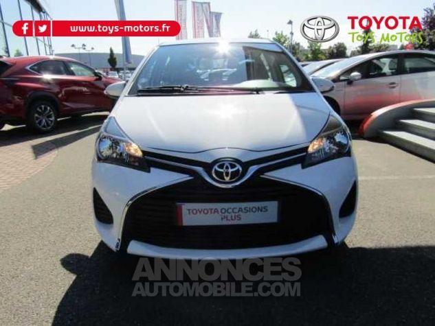 Toyota YARIS 69 VVT-i France 5p Blanc Occasion - 1