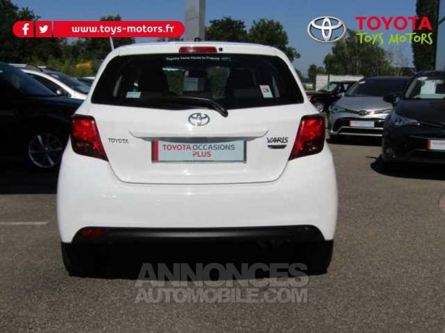 Toyota YARIS 69 VVT-i France 5p Blanc Occasion - 3