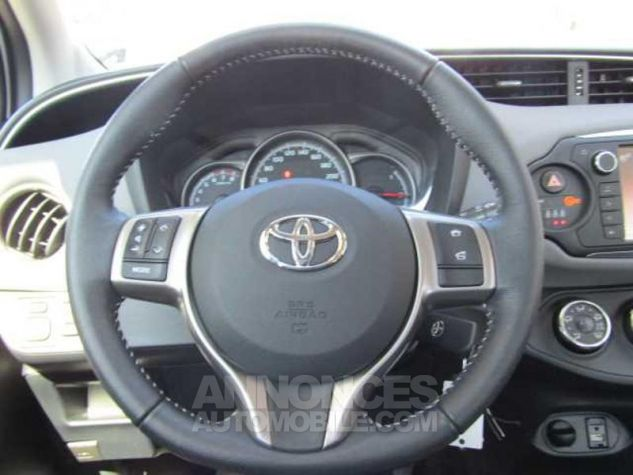 Toyota YARIS 69 VVT-i France 5p Blanc Occasion - 4