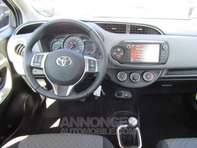 Toyota YARIS 69 VVT-i France 5p Blanc Occasion - 5