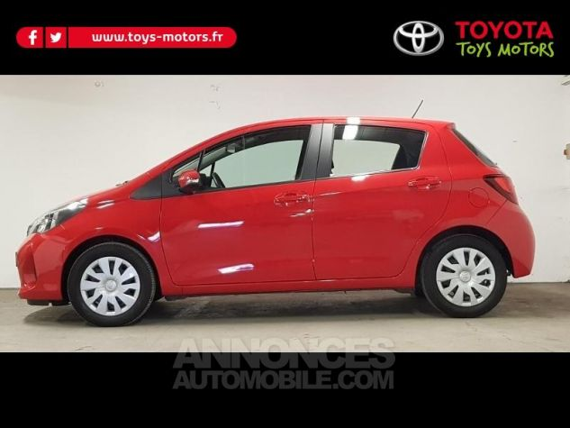 Toyota YARIS 69 VVT-i France 5p ROUGE CHILIEN Occasion - 0