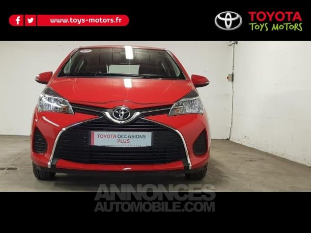 Toyota YARIS 69 VVT-i France 5p ROUGE CHILIEN Occasion - 1